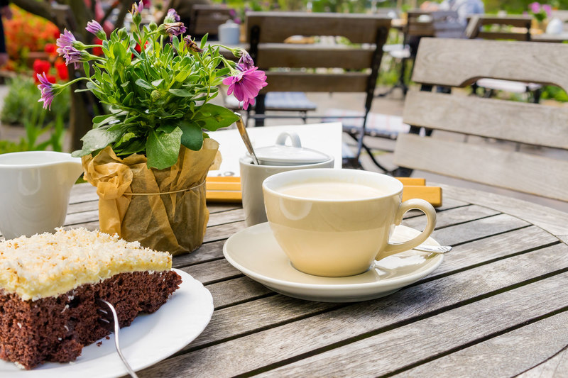 Venite-Café im Therapiebad